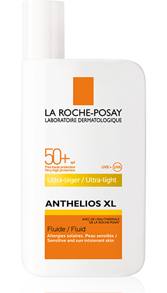 Anthelios XL FPS 50+ Fluido ULTRA-LIGERO packshot from Anthelios, by La Roche-Posay